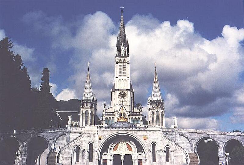 Heiliger Bezirk von Lourdes [ Kathedrale ]
