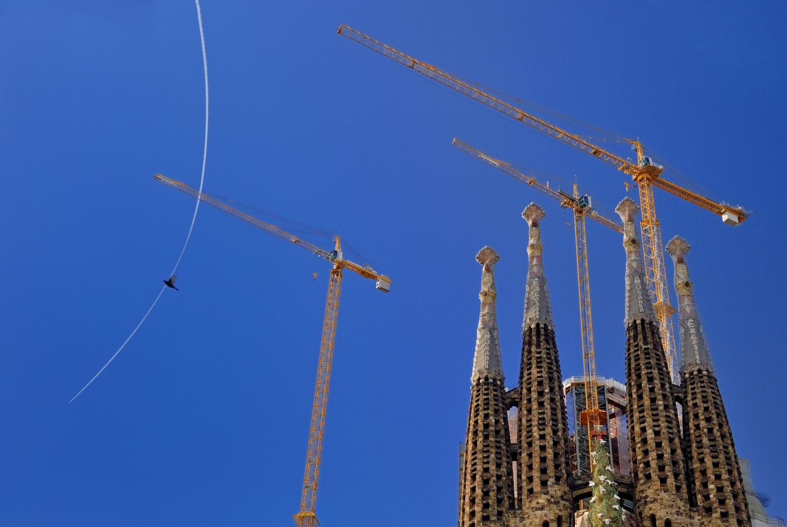 Heiliger Geist über Barcelona