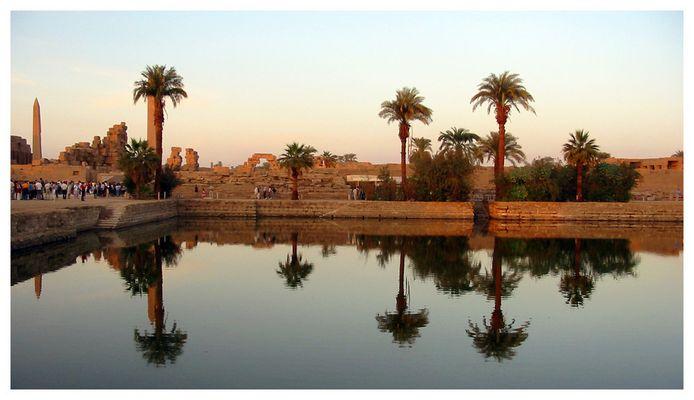 Heiliger See von Karnak