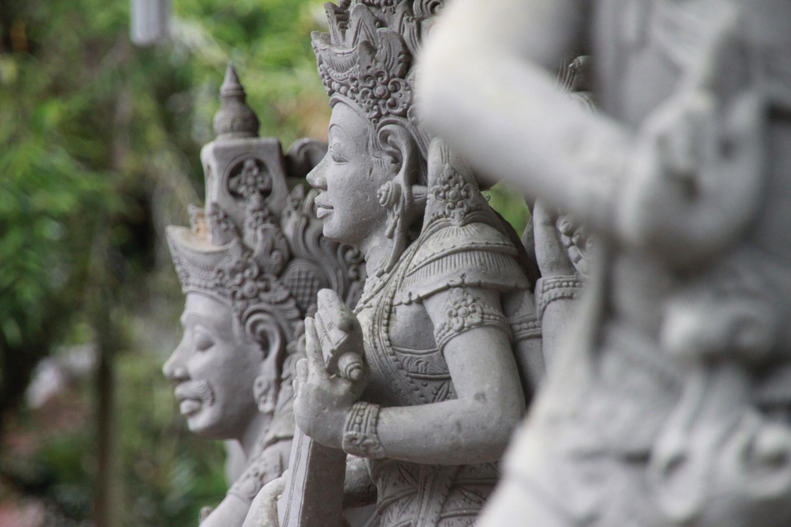 Heiliger Tempel auf Bali