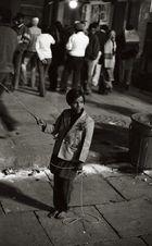 heiliges Glockenbimmeln in Varanasi