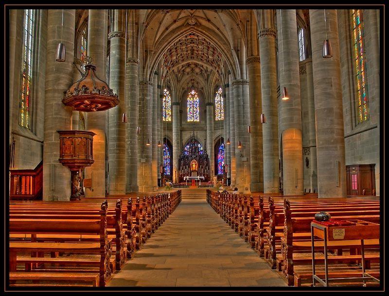 Heiligkreuzmünster Schwäbisch Gmünd