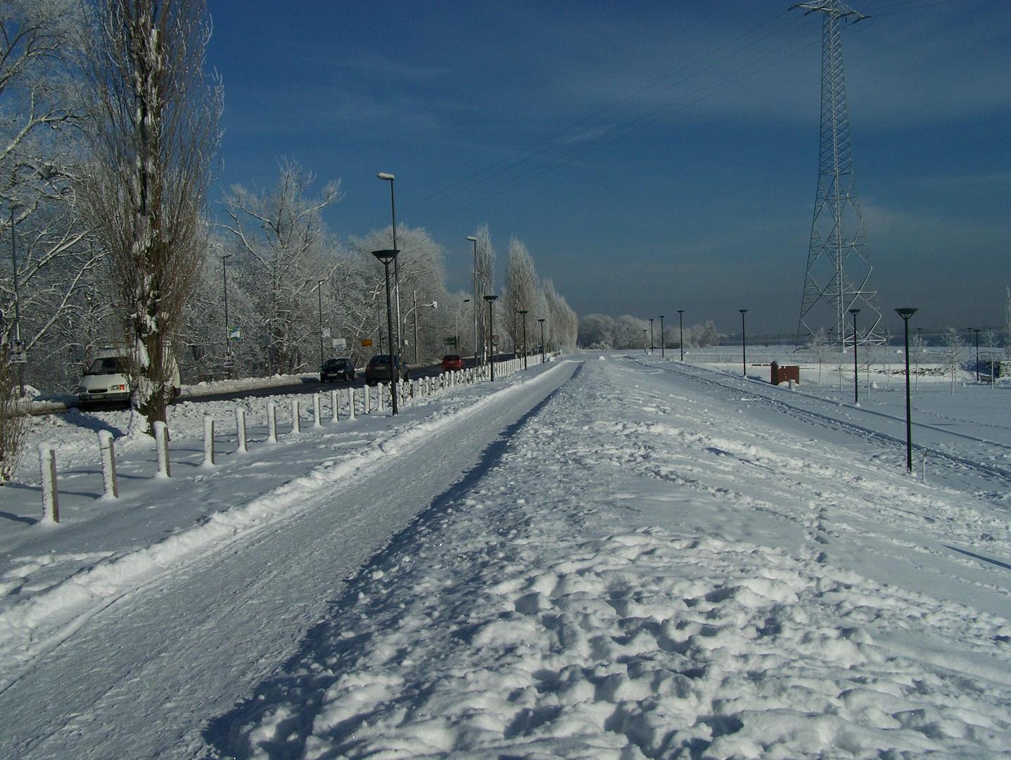 Heimat im Winter