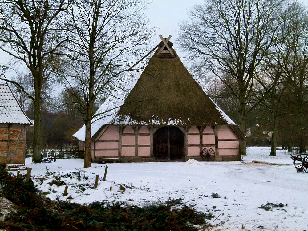 Heimatmuseums- Gehöft in Buchholz