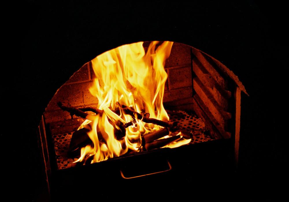 Heimisches Feuer
