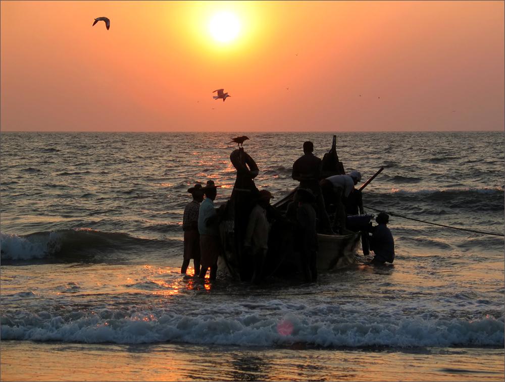 Heimkehr der Fischer
