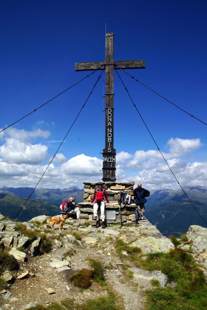 Heimkehrerkreuz, Nähe Silianer Hütte....Südtirol