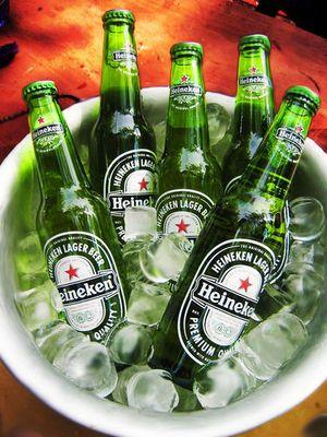 Heineken am Gardasee