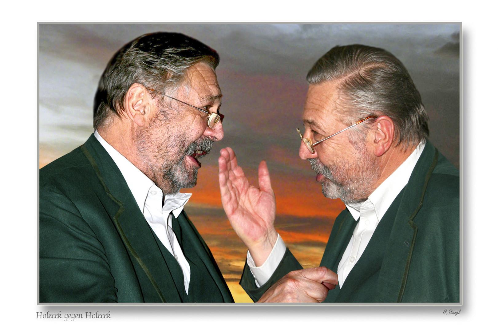 """Heinz Holecek, ein digitaler """"Zwilling"""""""