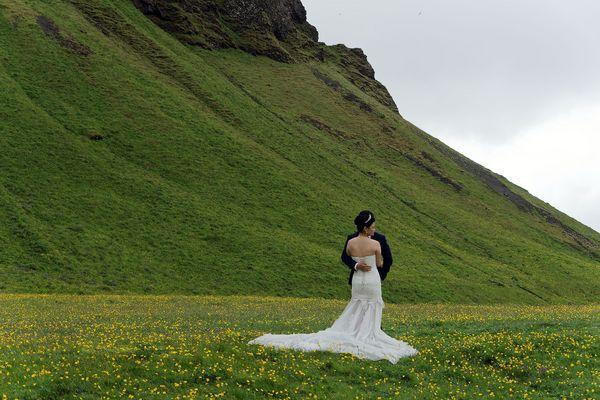 Heirat in Island