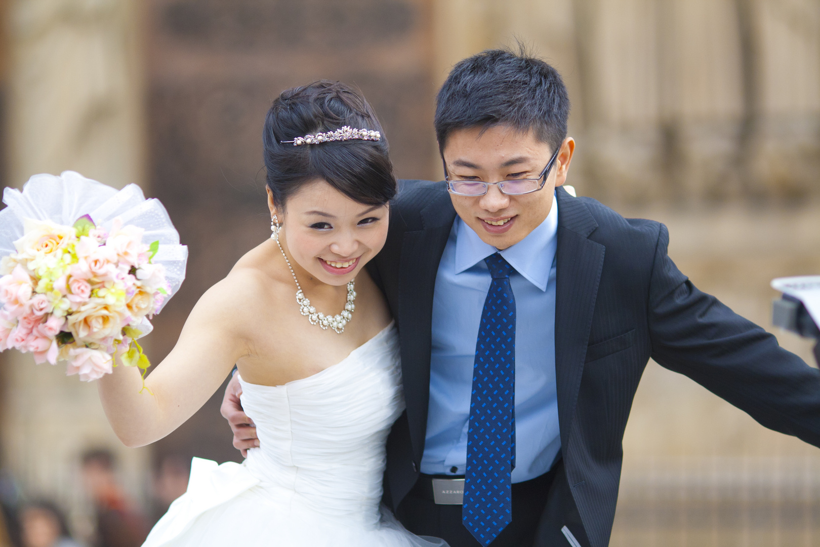Heiraten vor dem Notre Dame
