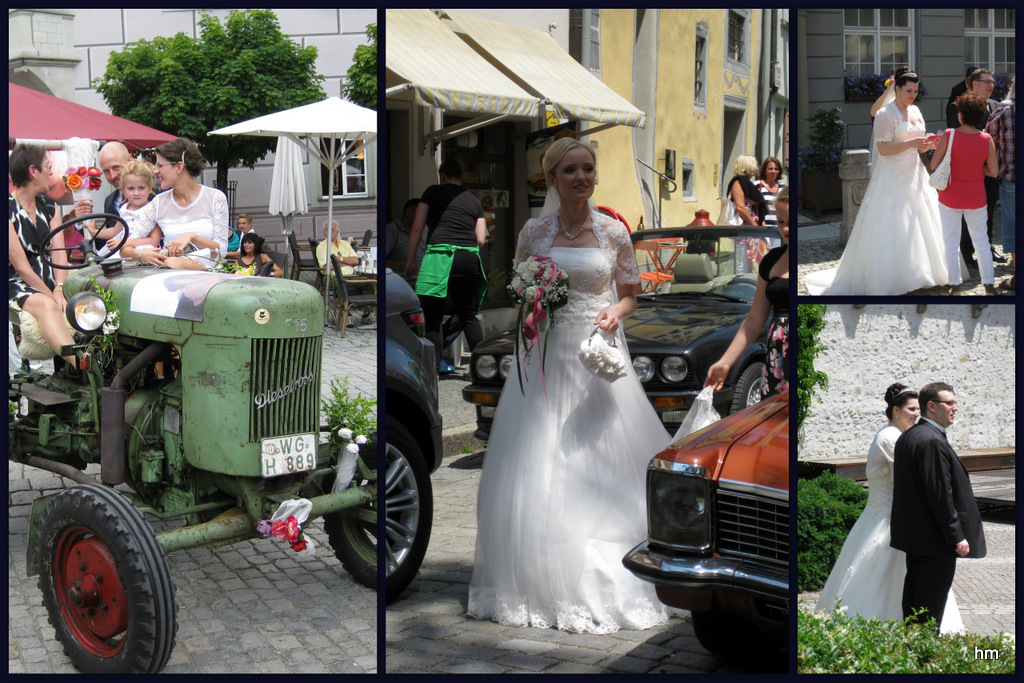 Heiratstaumel in Wangen im Allgäu