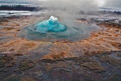 Heiße Eruption