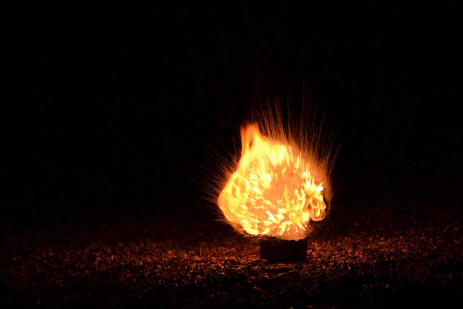 Heiße Explosion