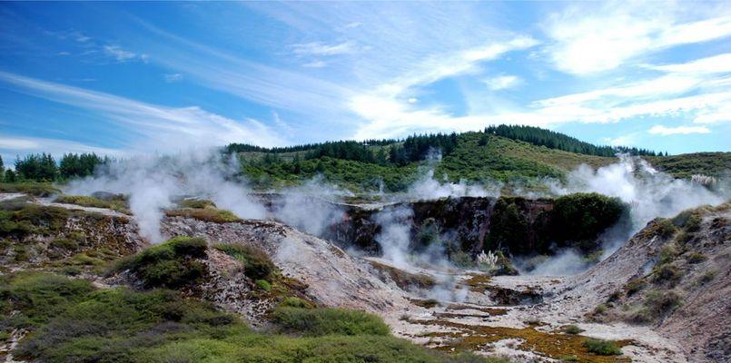 Heißer Urlaub - Thermale Aktivitäten in Neuseeland