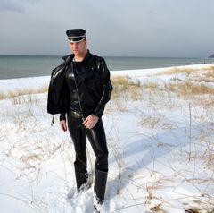 Heißer Winter auf der Insel Hiddensee