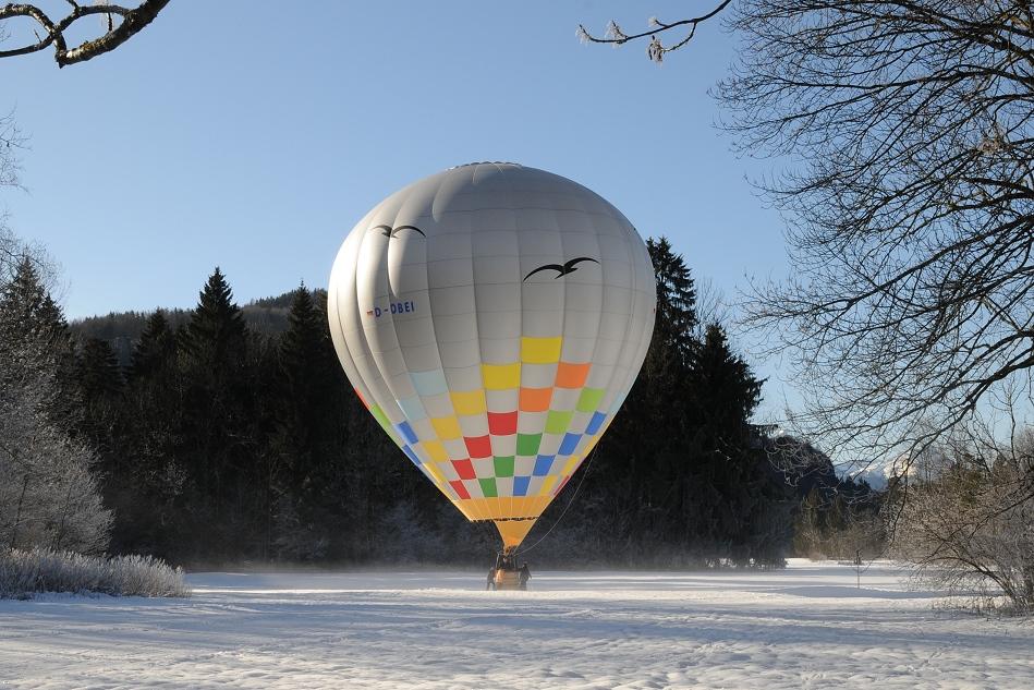 Heißluftballon D-OBEI