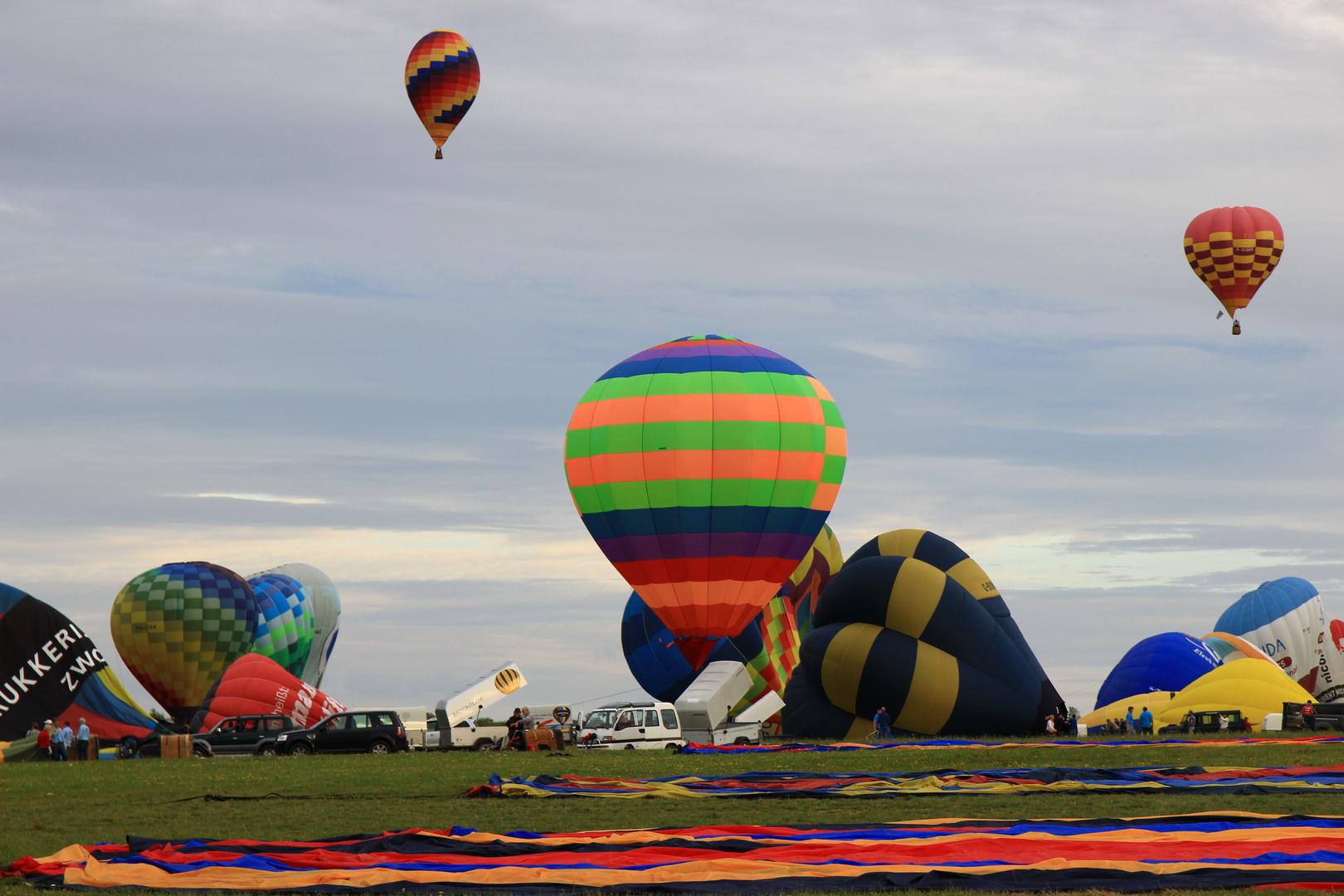 Heißluftballon Festival in Metz