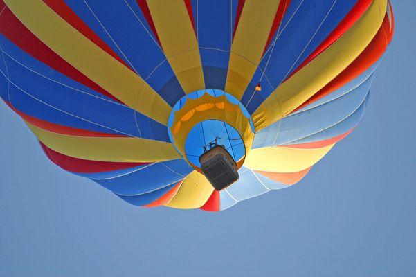 Heißluftballon ganz dicht