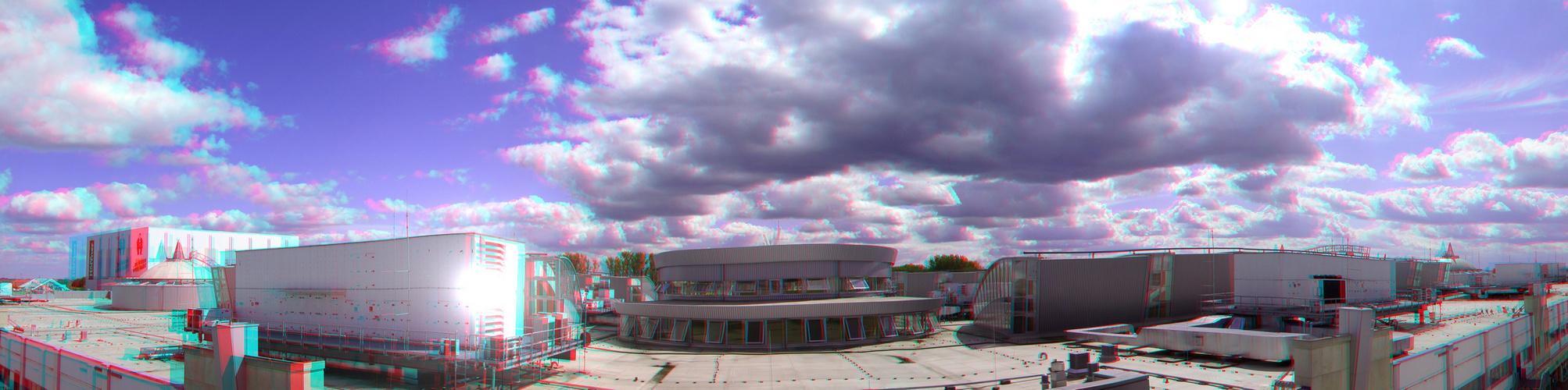 Heiter bis wolkig (3D-Pano-Foto)