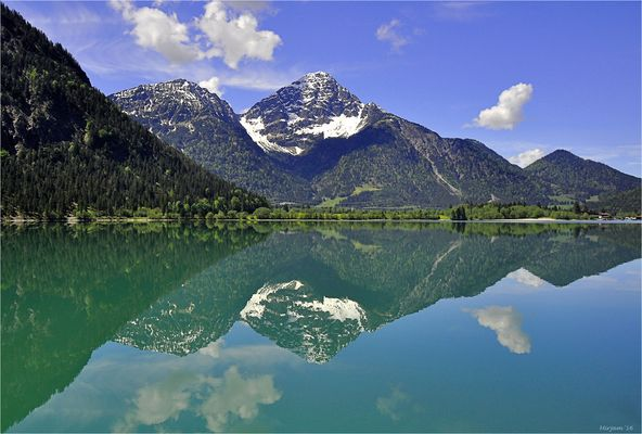 Heiterwanger See,  Tirol ..