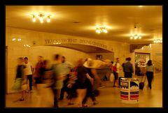 Hektik im Grand Central Terminal in New York