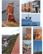 Helgoland (meine erste Collage)