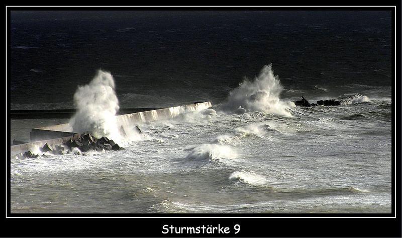 Helgoland Sturmstärke9