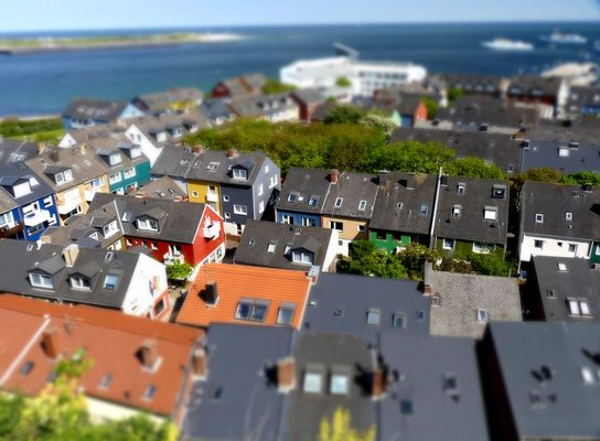 Helgoland Tilt-Shift
