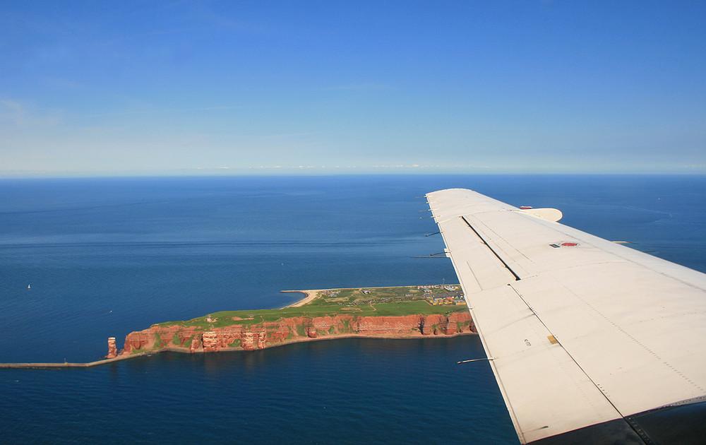 Helgoland von oben! :-)
