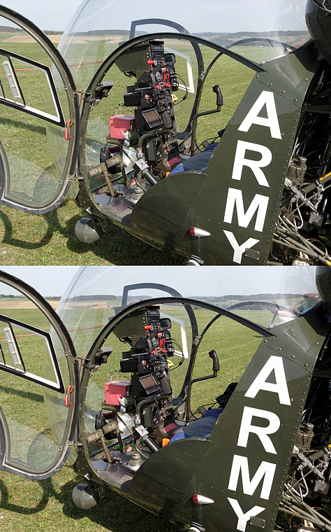 Heli-Cockpit