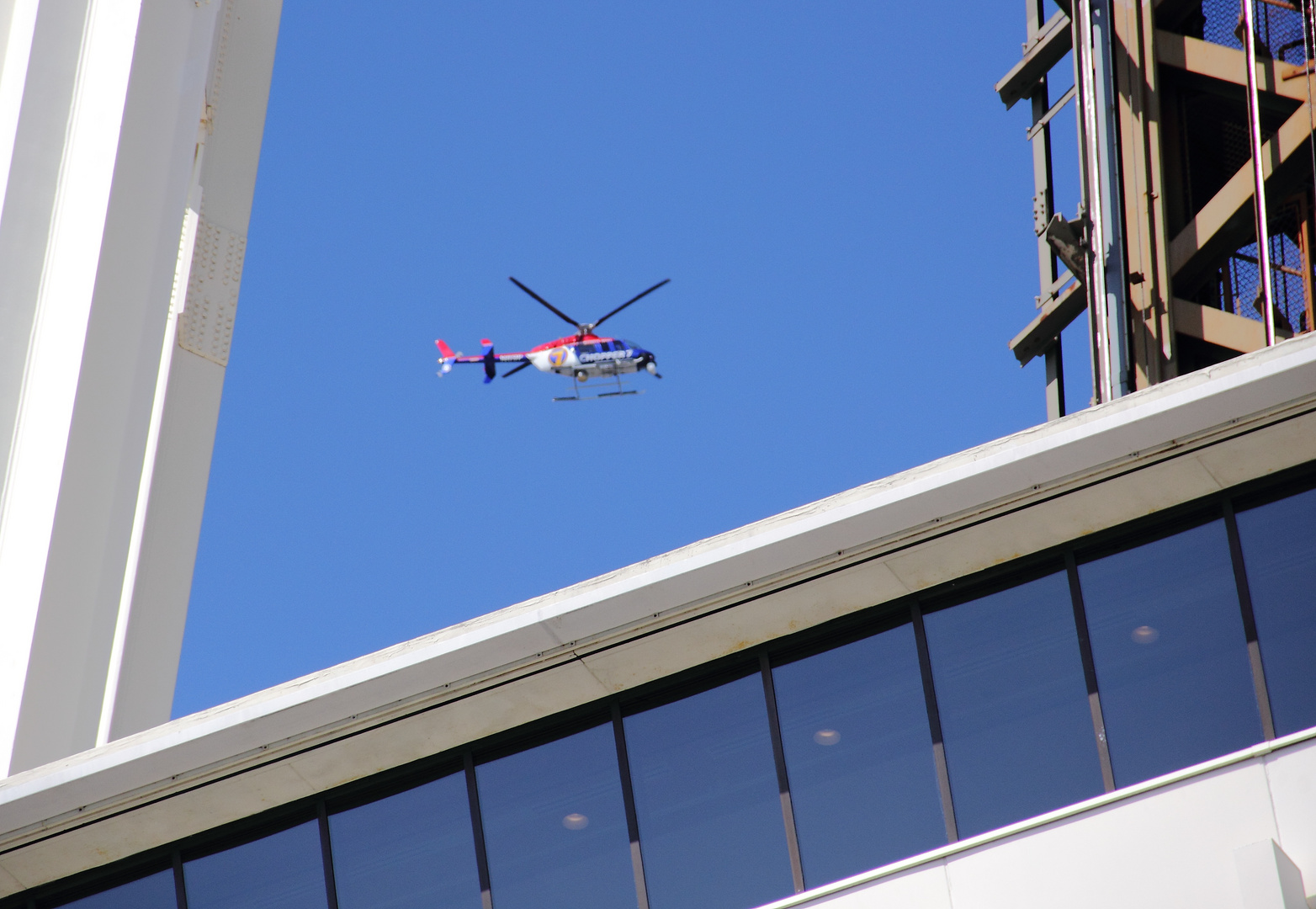 Helicopter Seattle Tower