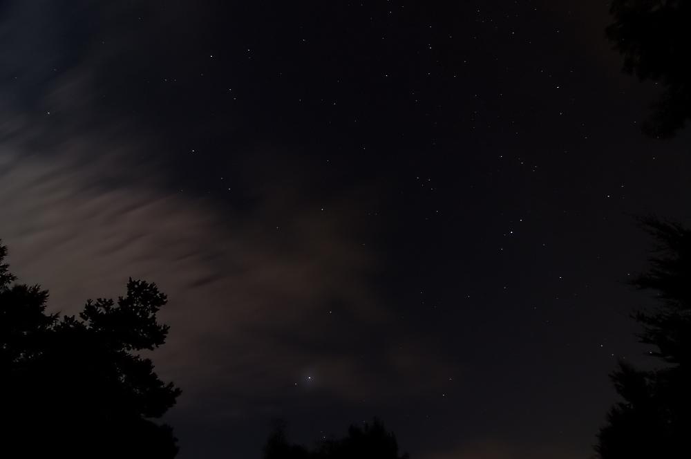 Hell leuchtet der Jupiter.....