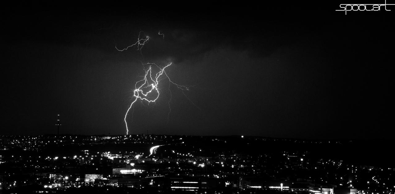 Hell over Regensburg