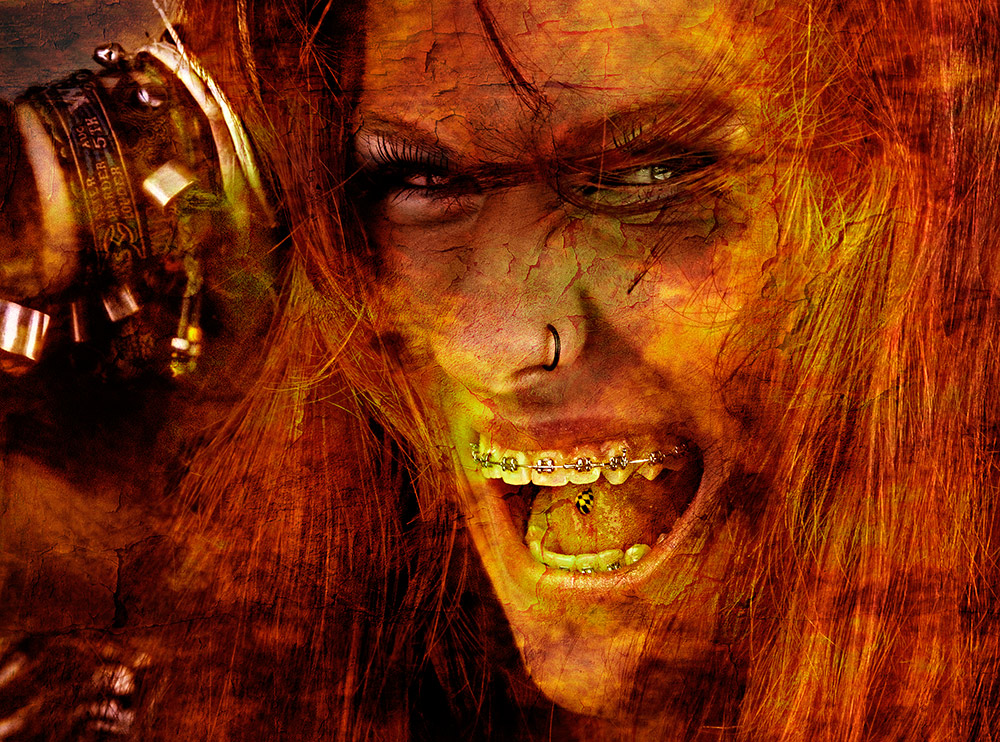 Hell Punk Lady
