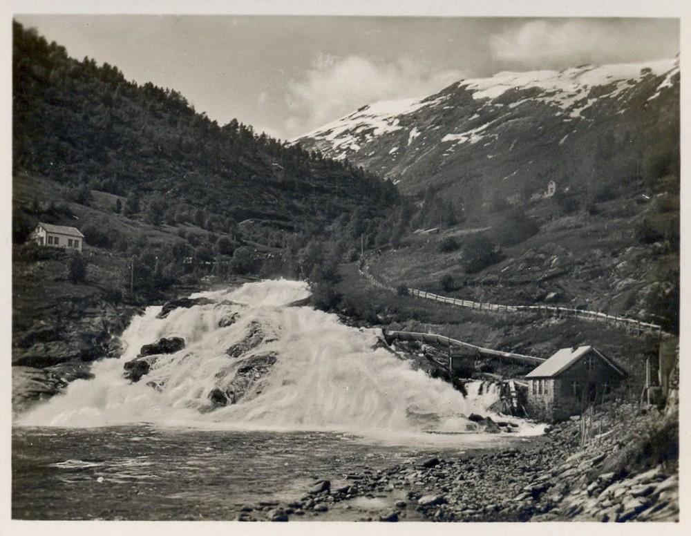 Hellesylt.Foto von 1929