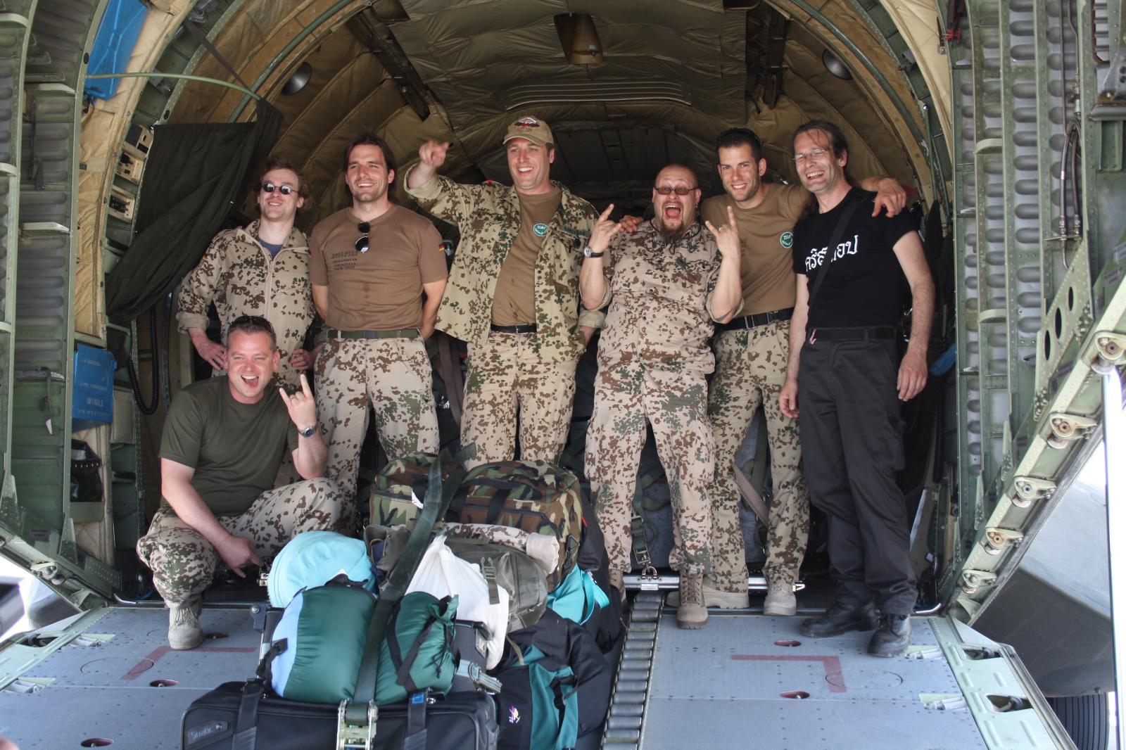Hellfire & Crew in Mazar i Sharif