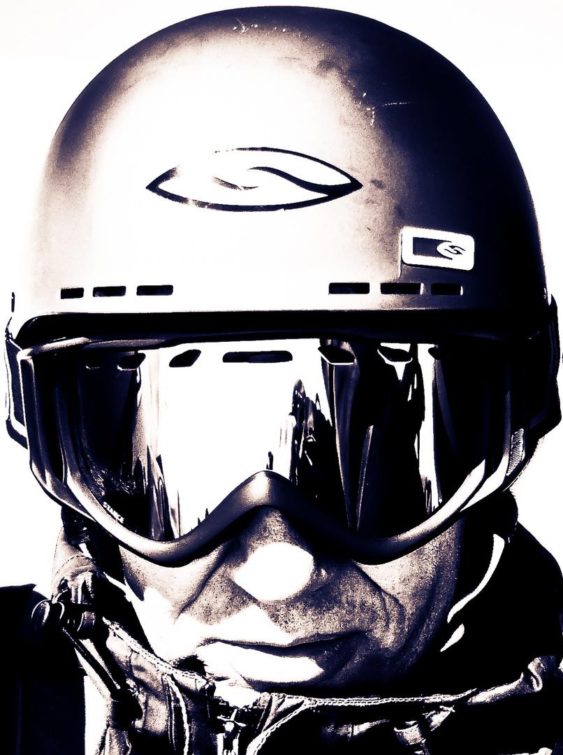 helmet man