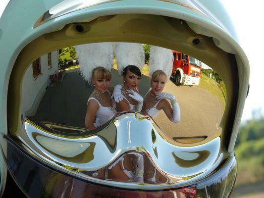 Helmspiegelung