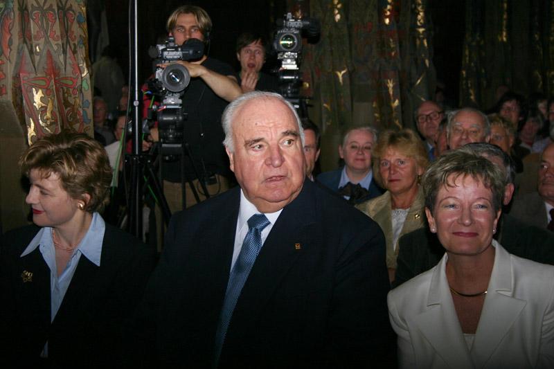Helmut Kohl in Meißen