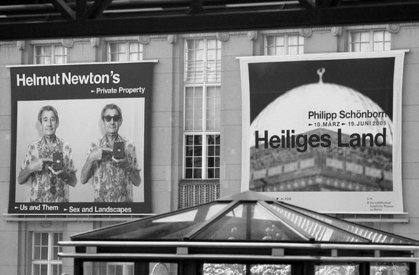 Helmut Newton's heiliges Land
