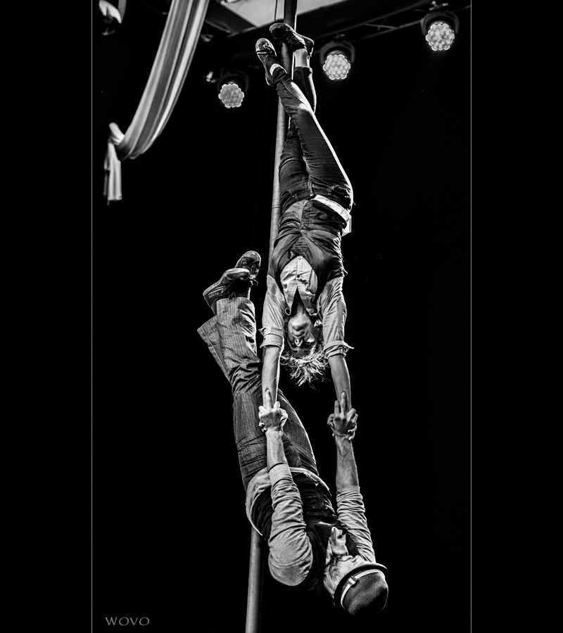 Heloise & Will - Hand auf Hand, Chinese Pole Duo