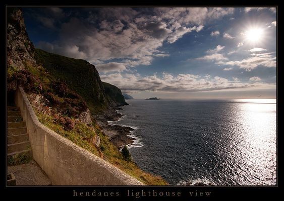 hendanes lighthouse view