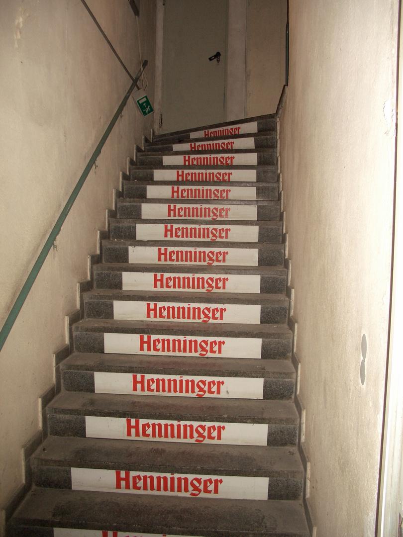 Henninger Turm - Treppenhaus 1