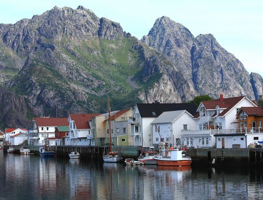 Henningsvær (Isole Lofoten - Norvegia)