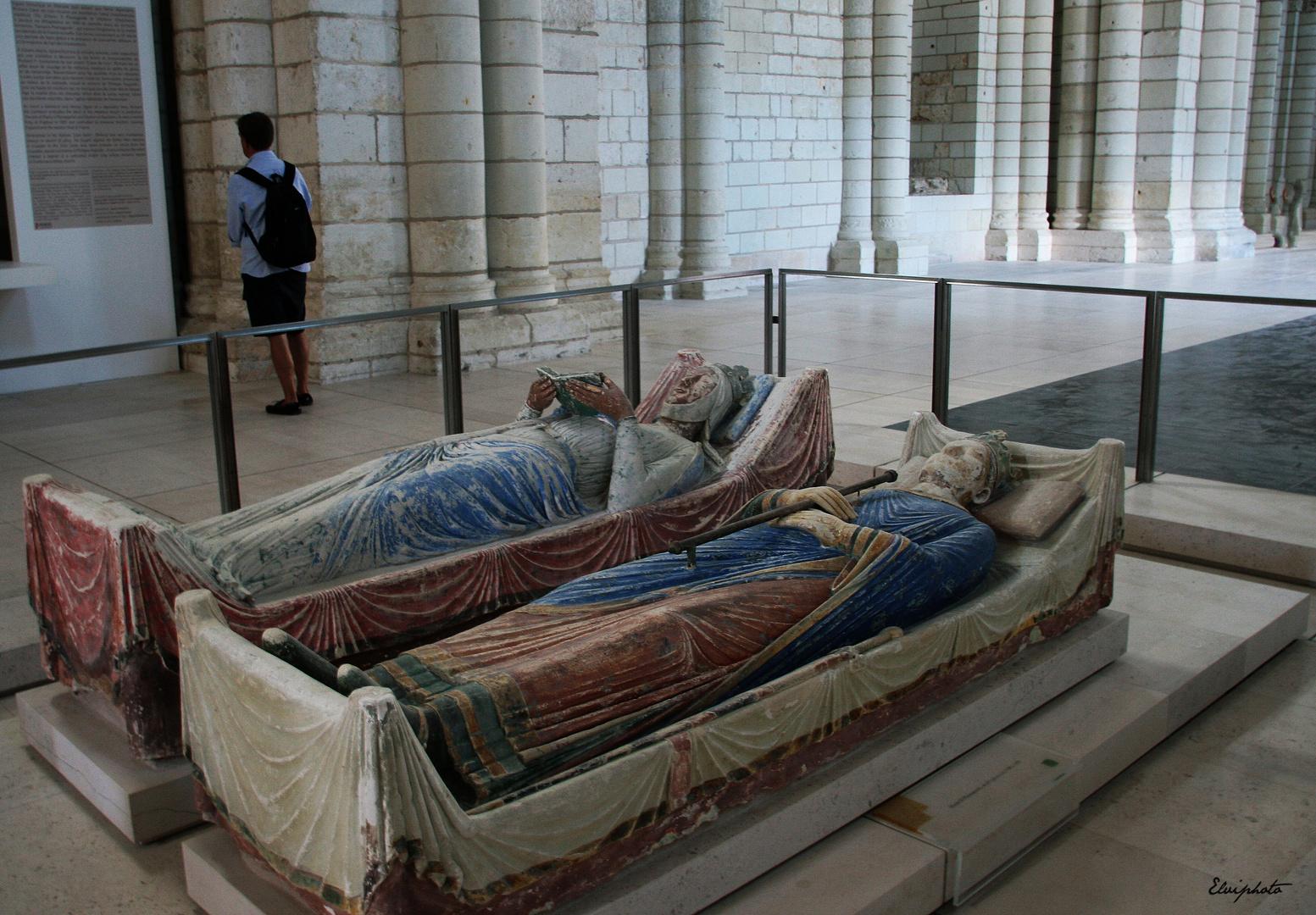 Henri II Plantagenêt et Aliénor d'Aquitaine
