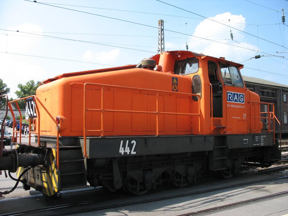 Henschel DHG RAG/RBH Nr.442