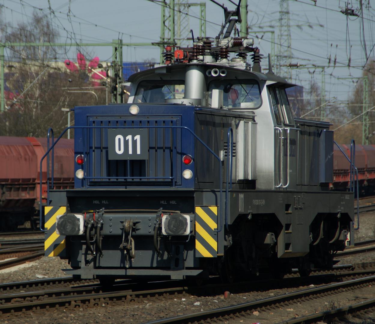 Henschel E 1200 in Oberhausen