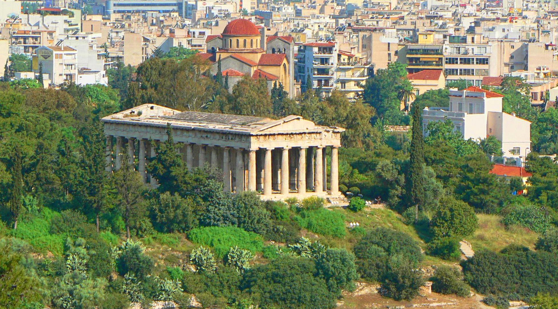 Hephaistos Temple in the Antique Agora