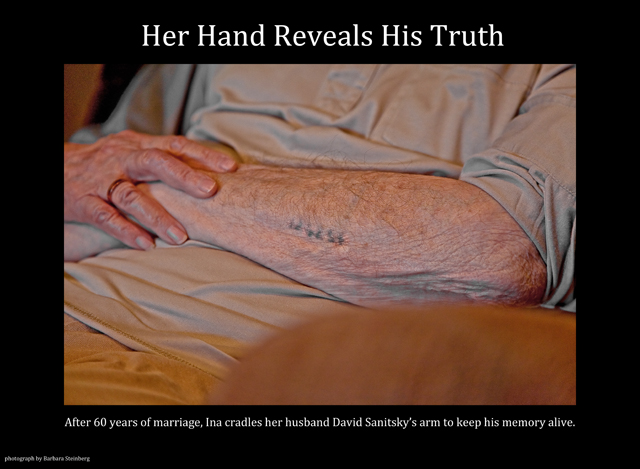 Her Hand Reveals His Truth